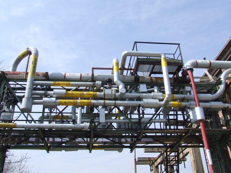 układ bezpieczny chlor